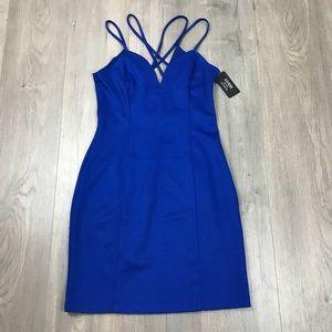NWT Guess Blue Mini Party Dress 8